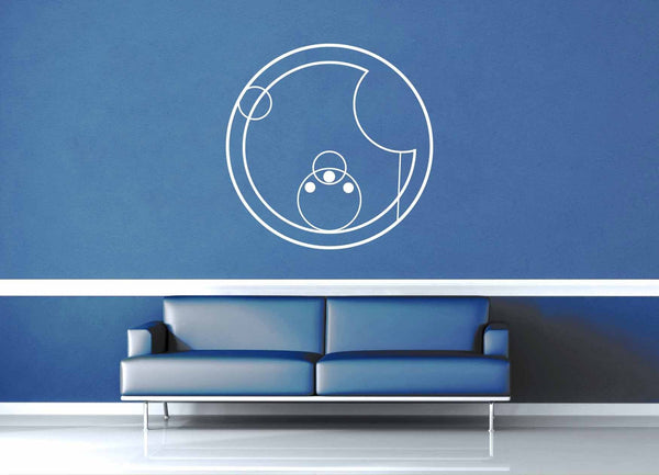 Love - Gallifreyan - Doctor Who - Wall Decal - geekerymade