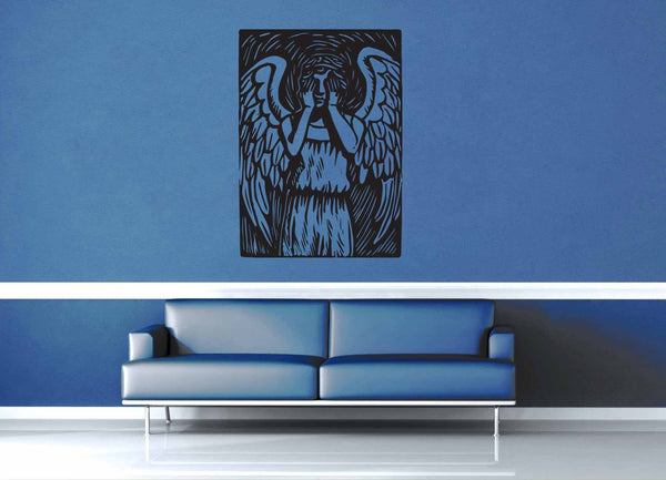 Weeping Angel - Doctor Who - Wall Decal - geekerymade