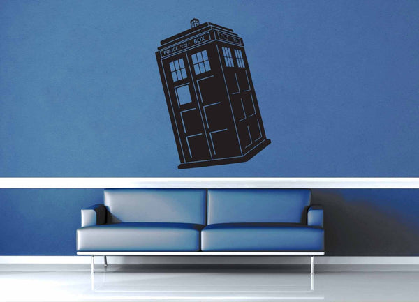 Tardis - Doctor Who - Wall Decal - geekerymade