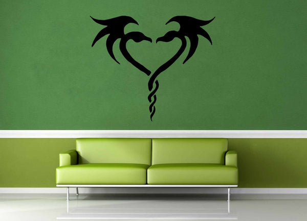 Dragon Heart - Wall Decal - geekerymade