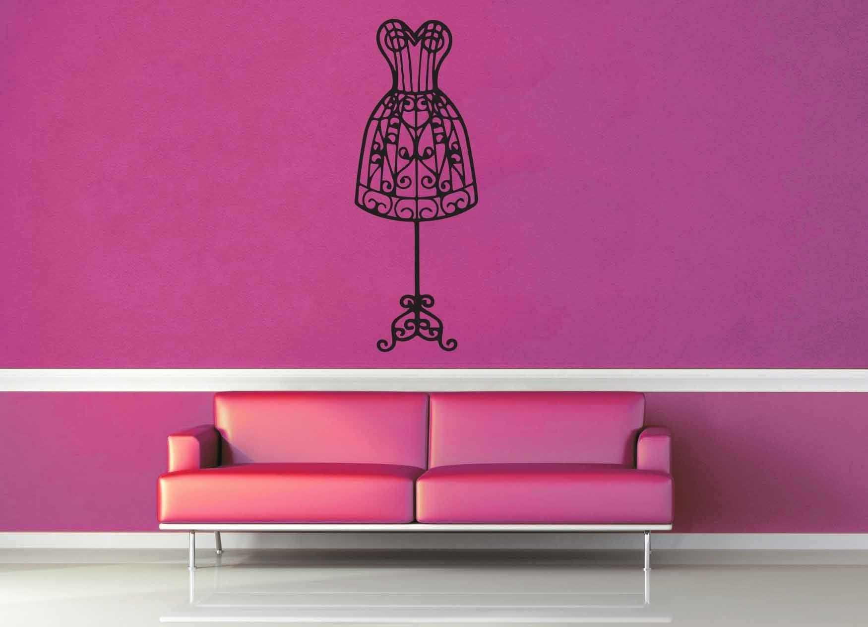 Dress Form - Wall Decal
