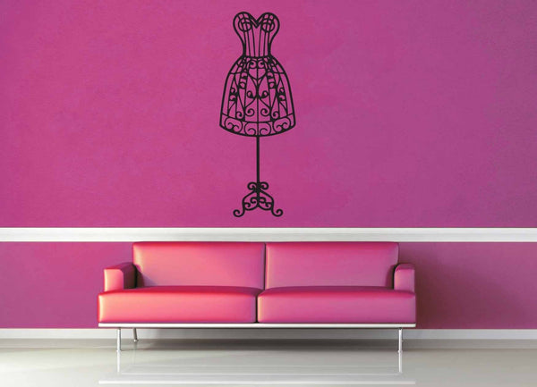 Dress Form - Wall Decal - geekerymade