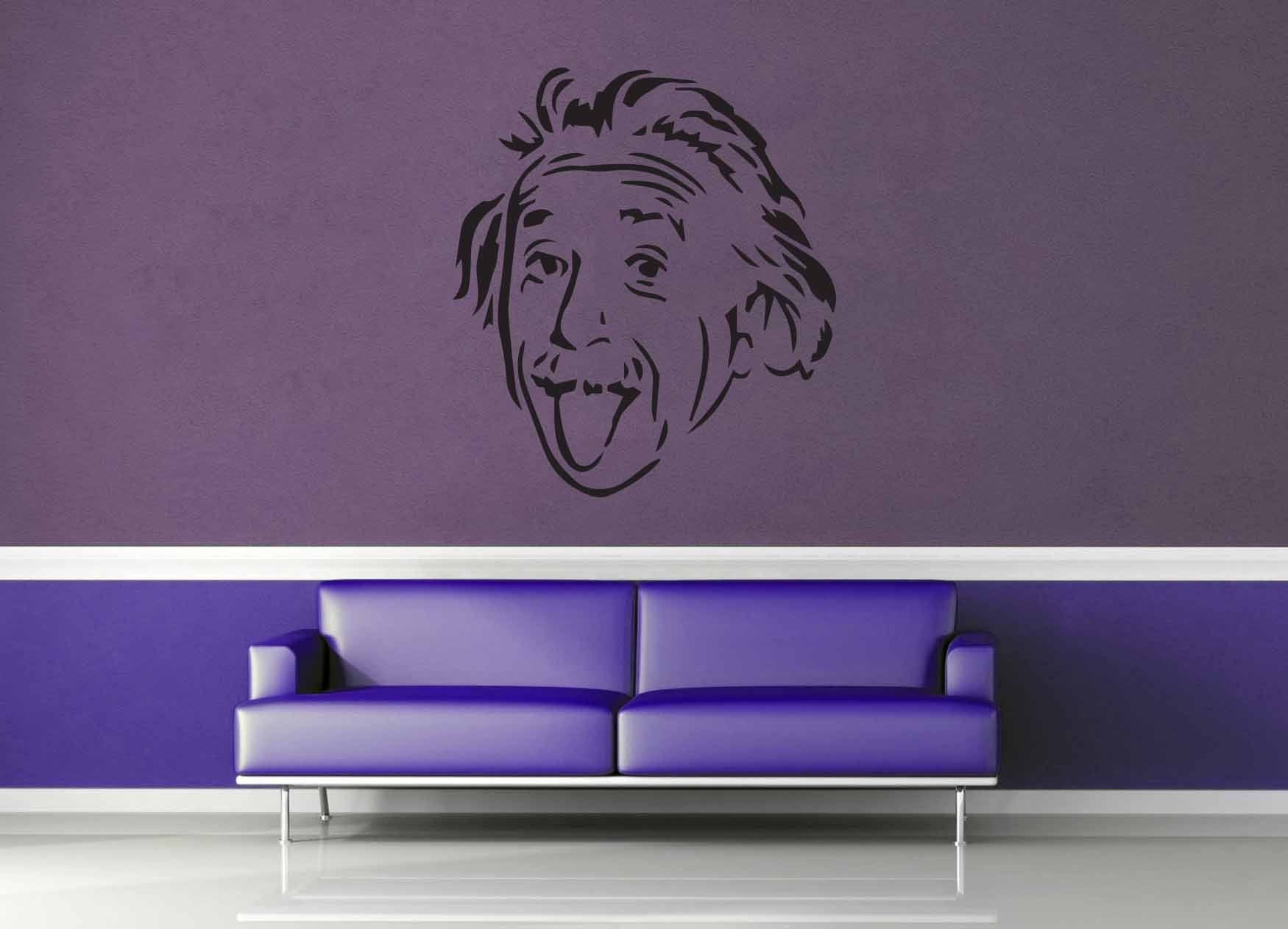 Einstein - Wall Decal