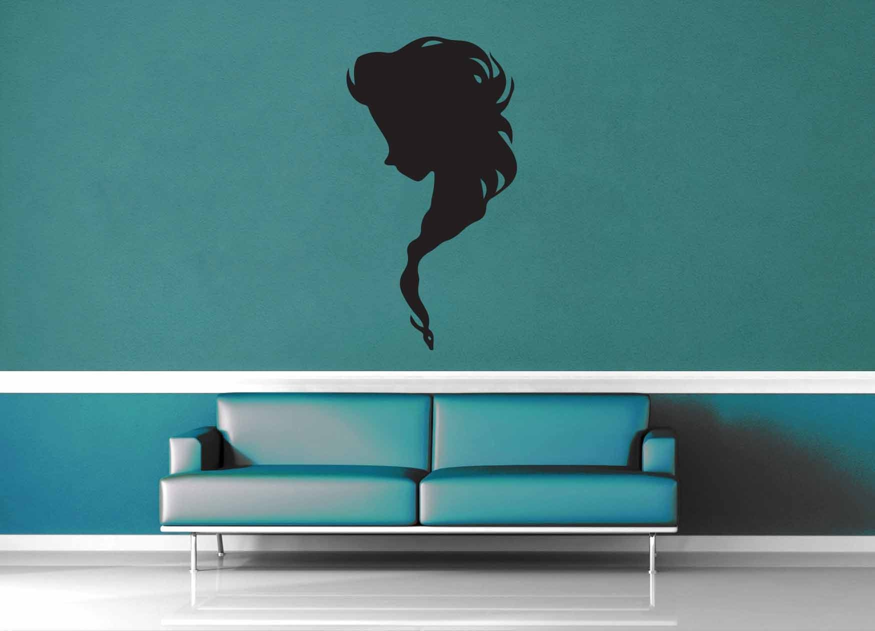 Elsa Silhouette - No 1  - Wall Decal