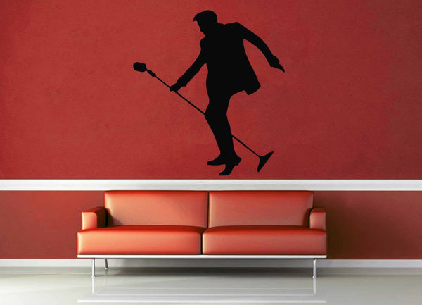 Elvis Silhouette - Wall Decal - geekerymade