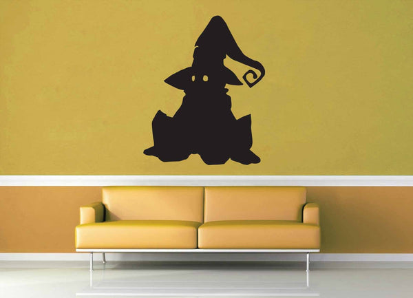Vivi Silhouette - No 2 - Final Fantasy 9 - Wall Decal