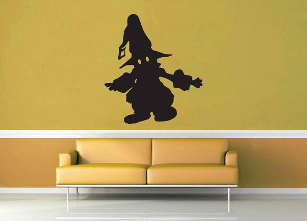 Vivi Silhouette - No 1 - Final Fantasy 9 - Wall Decal
