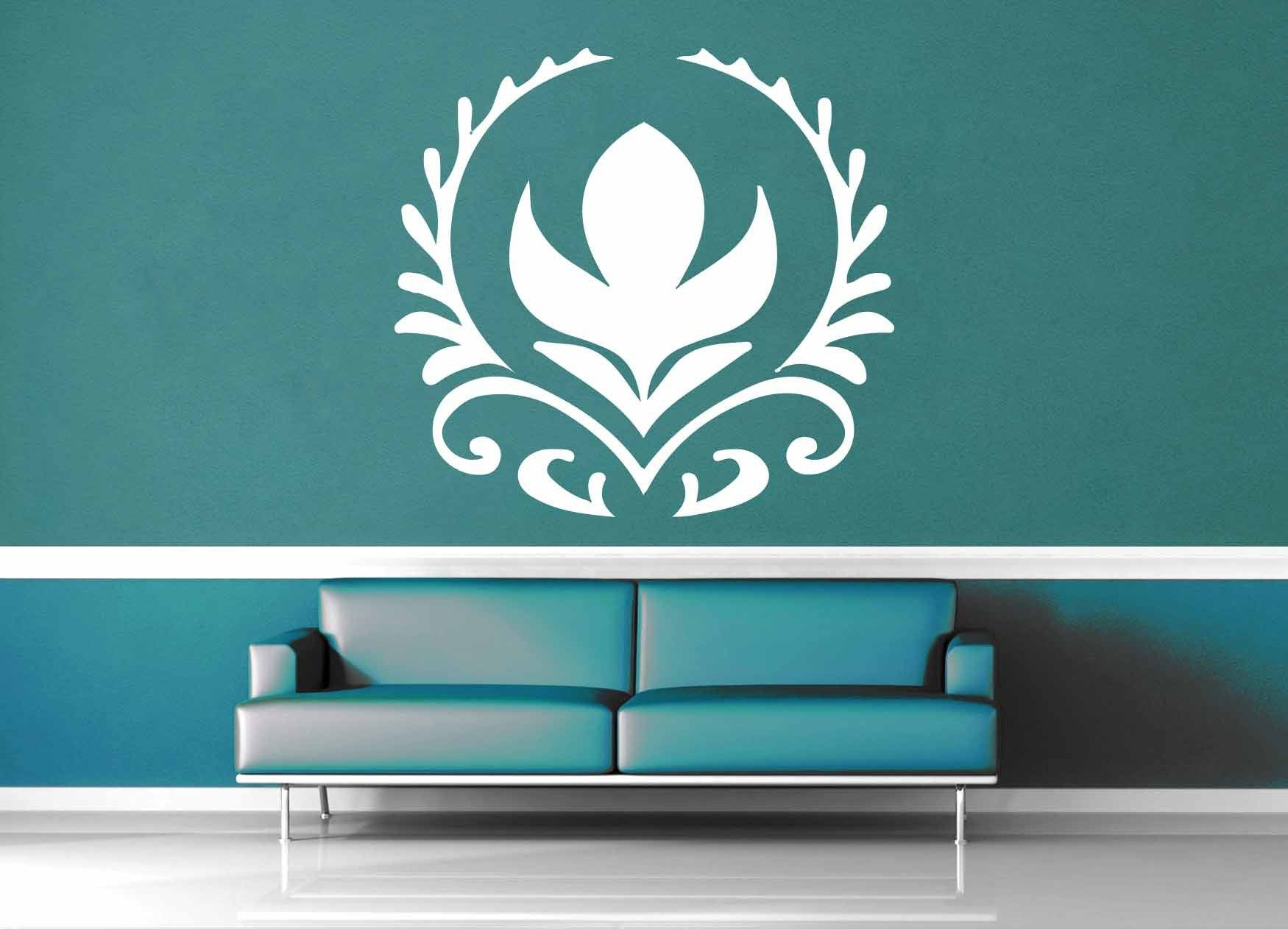 Frozen Crest - Wall Decal