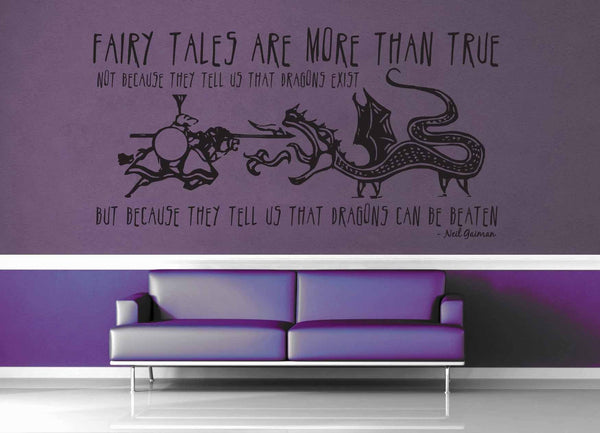 Fairytales are More Than True - Wall Decal - geekerymade