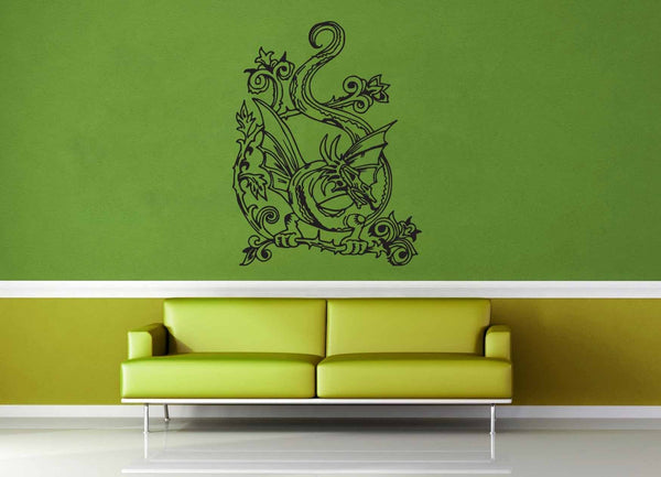 Dragon - Wall Decal - No 2 - geekerymade