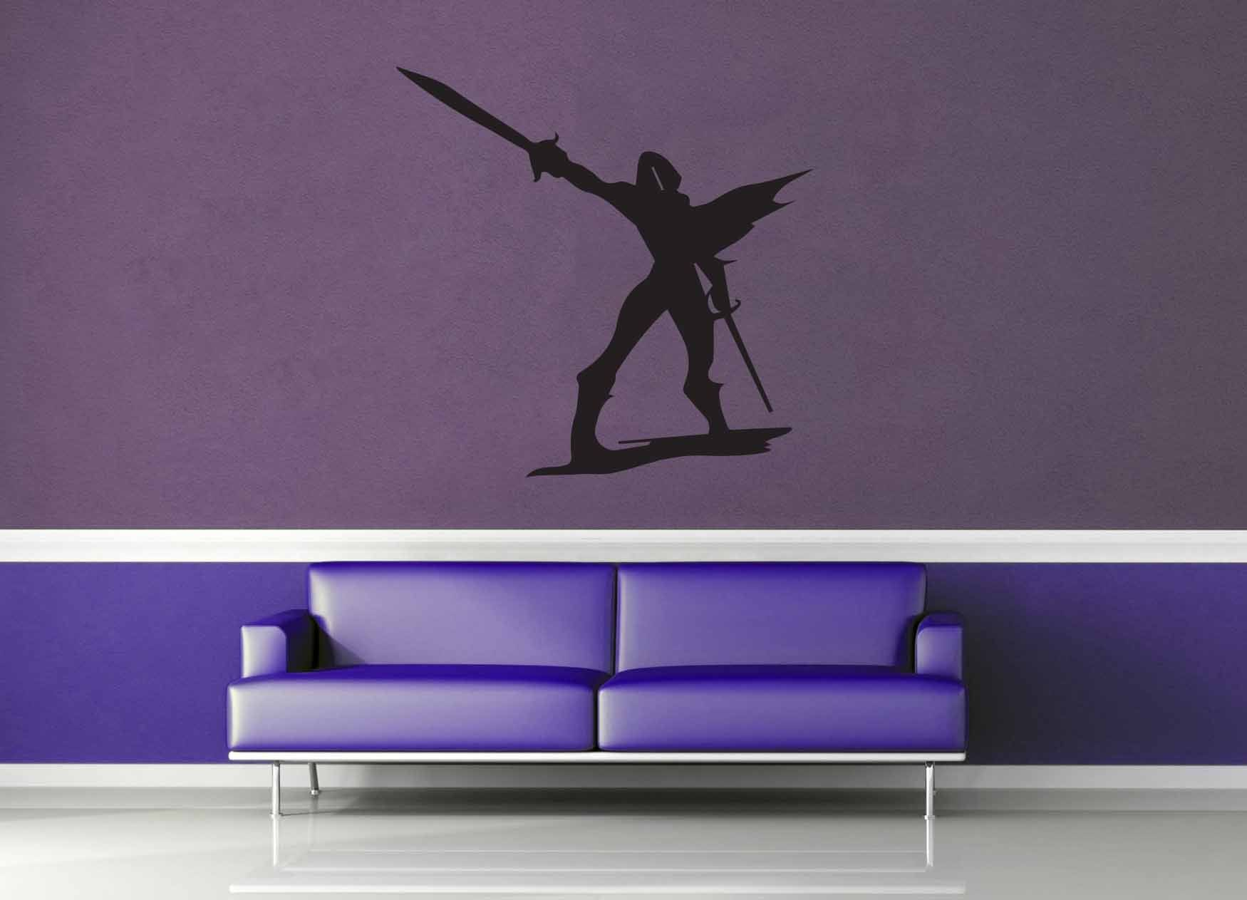 Fighter Silhouette - Wall Decal - No 1 - geekerymade
