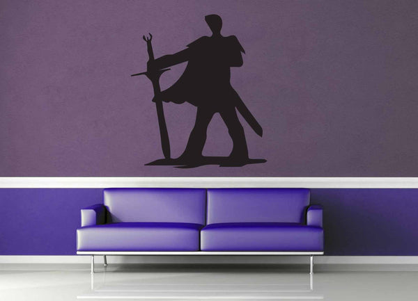 Fighter Silhouette - Wall Decal - No 2
