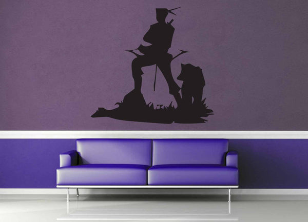 Pikeman Silhouette - Wall Decal