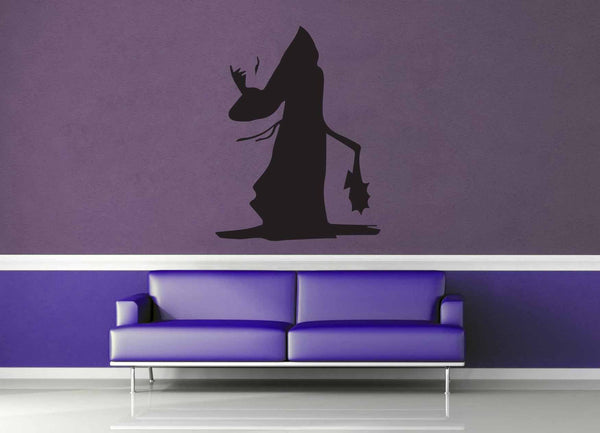 Warlock Silhouette - Wall Decal