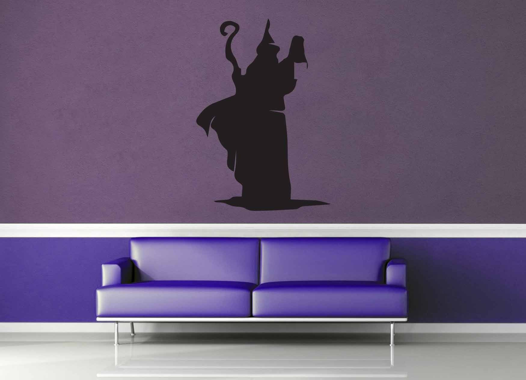 Wizard Silhouette - Wall Decal