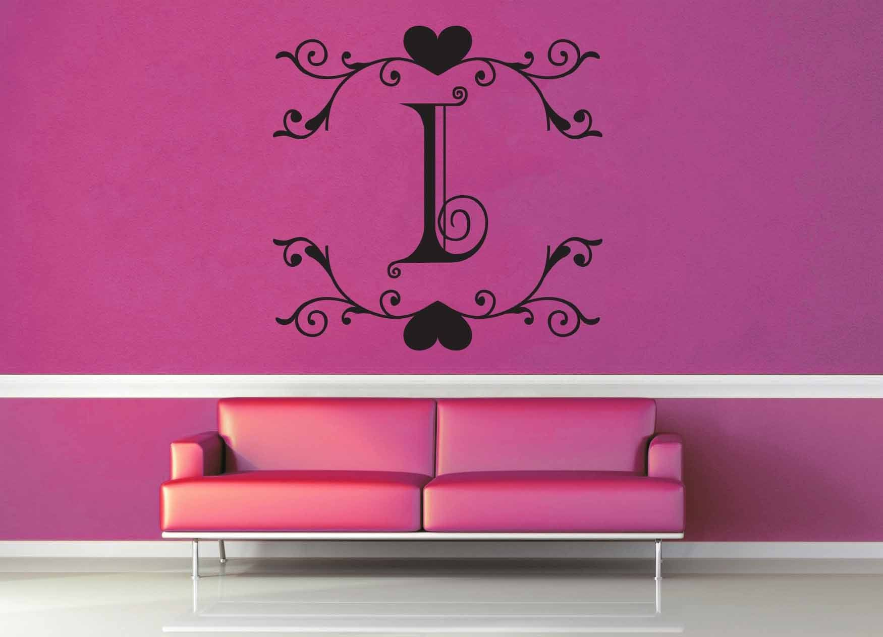 Fantasy Monogram - I - Wall Decal