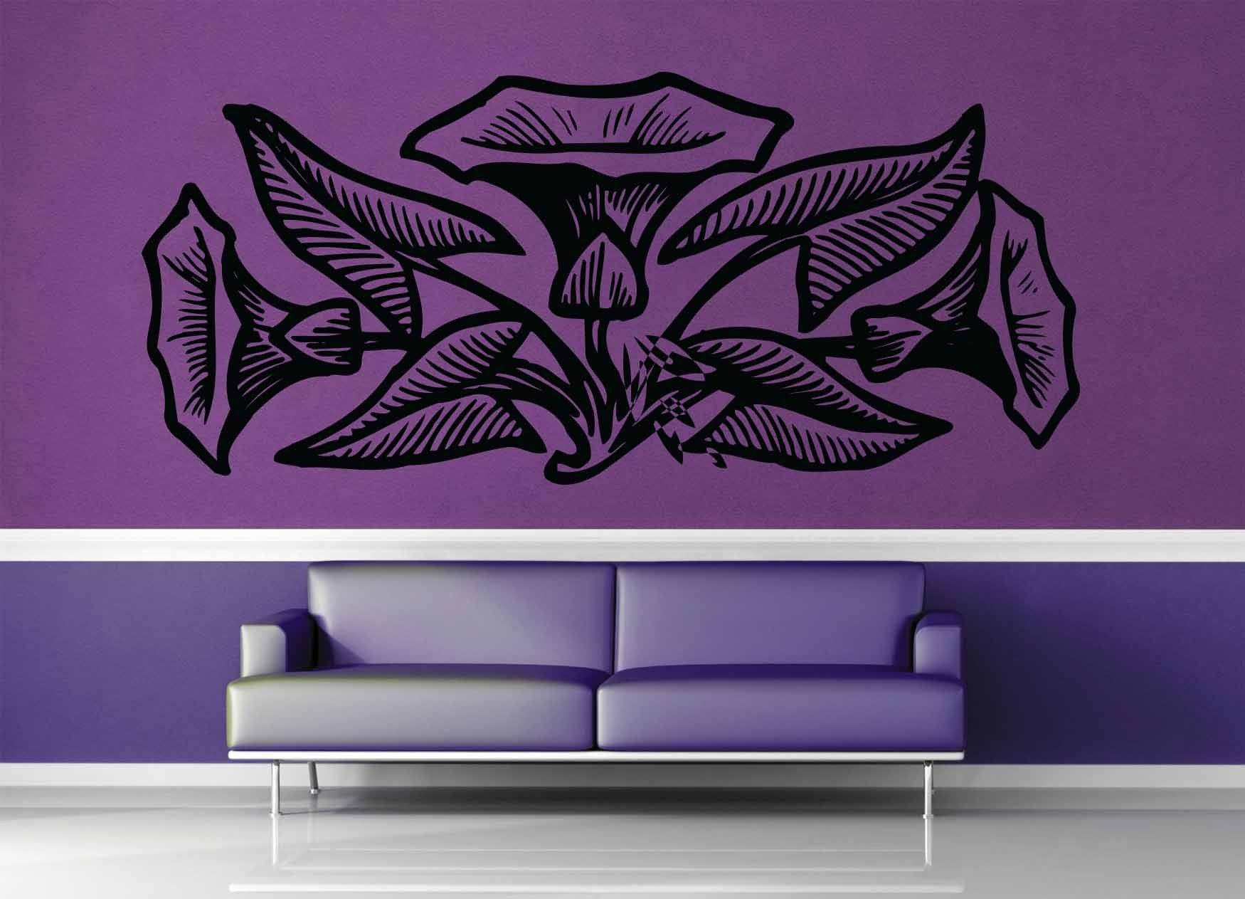 Flower - Wall Decal - No 1