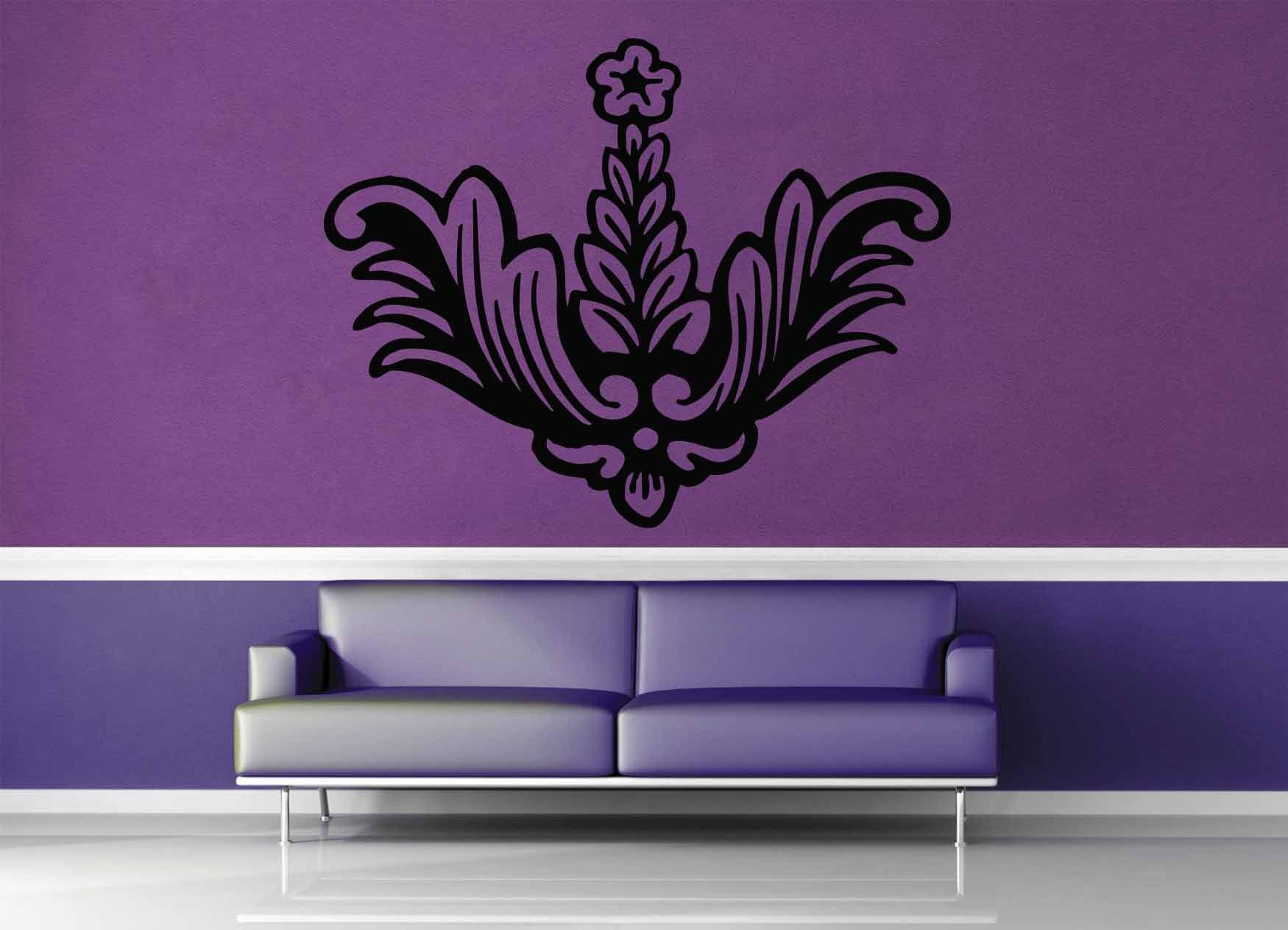 Flower - Wall Decal - No 2