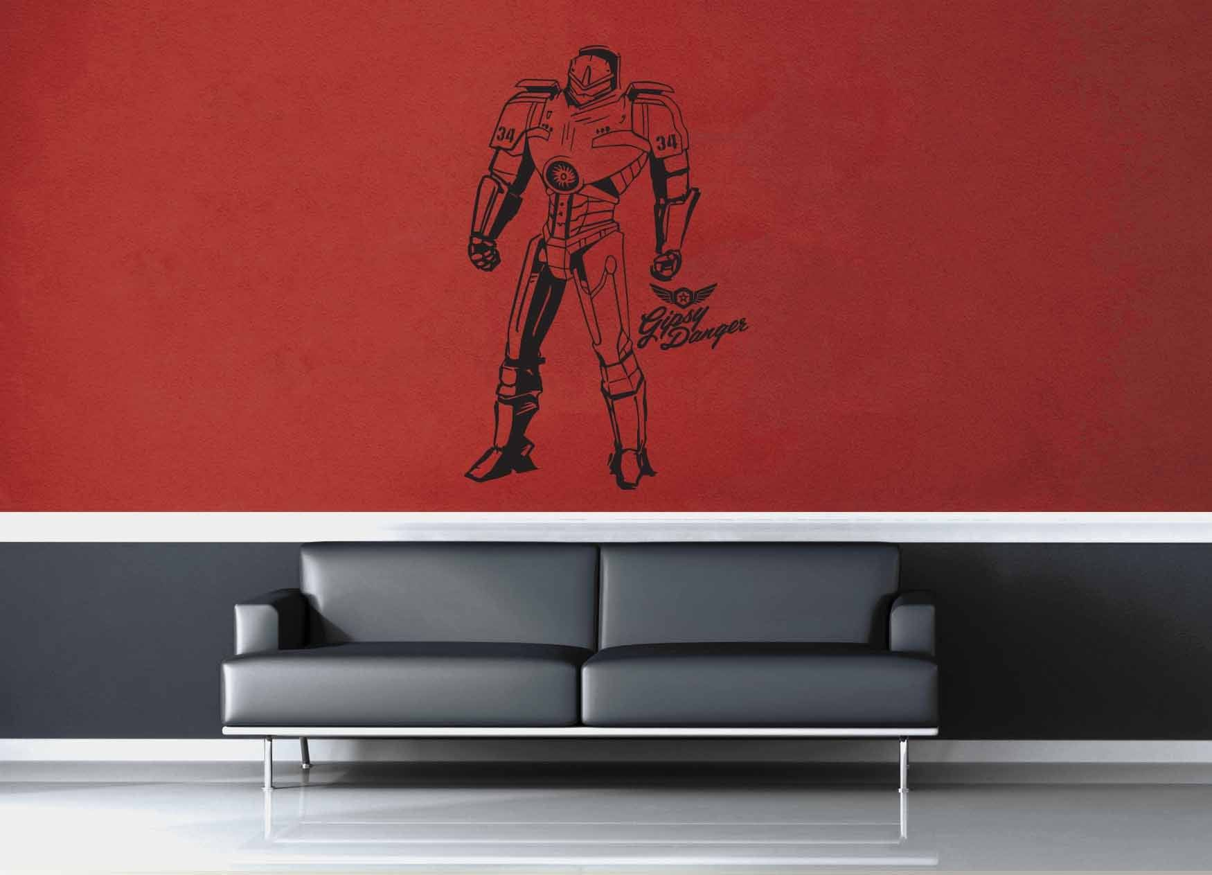 Gypsy Danger - Pacific Rim - Wall Decal