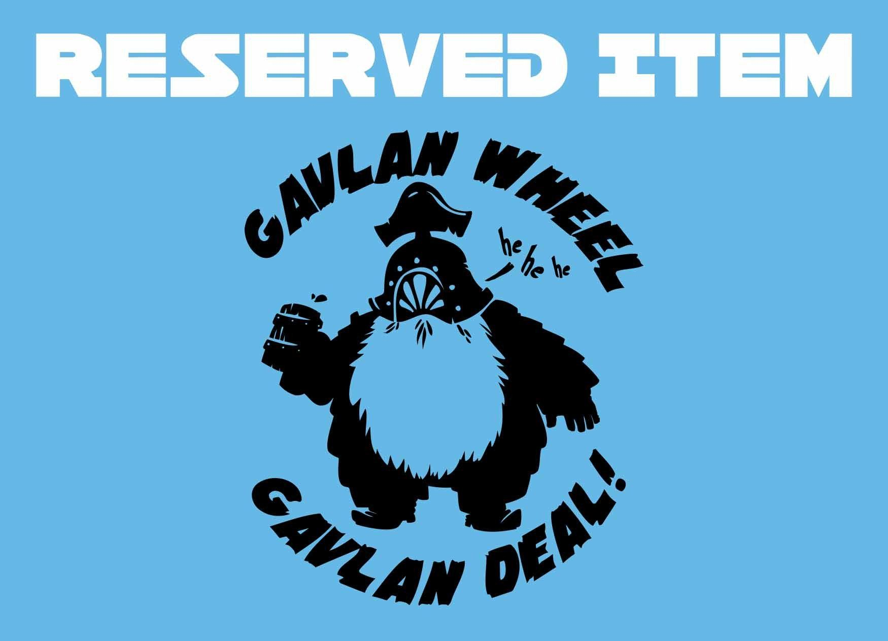 Reserved Item - Crowsmack - Dark Souls Gavlan Wheel Gavlan Deal
