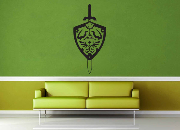 Sword and Shield - Legend of Zelda - Wall Decal
