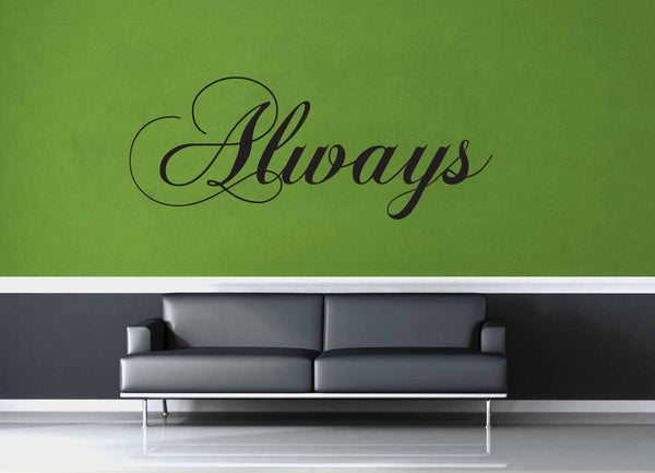 Always - Harry Potter Quote - Wall Decal - geekerymade