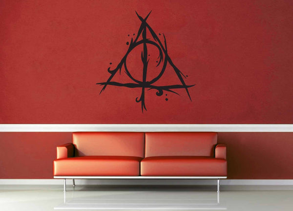 Deathly Hallows - Harry Potter - Wall Decal - geekerymade
