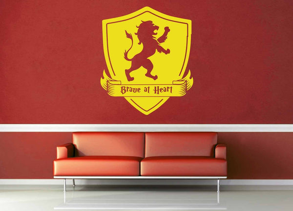 Gryffindor Crest - Harry Potter - Wall Decal - geekerymade