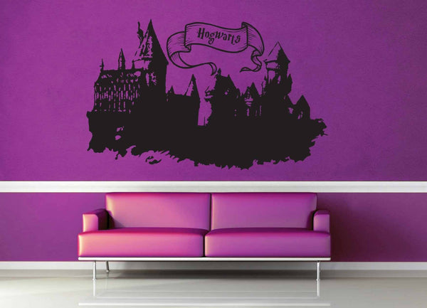 Hogwarts Castle - Harry Potter - Wall Decal - No 2 - geekerymade