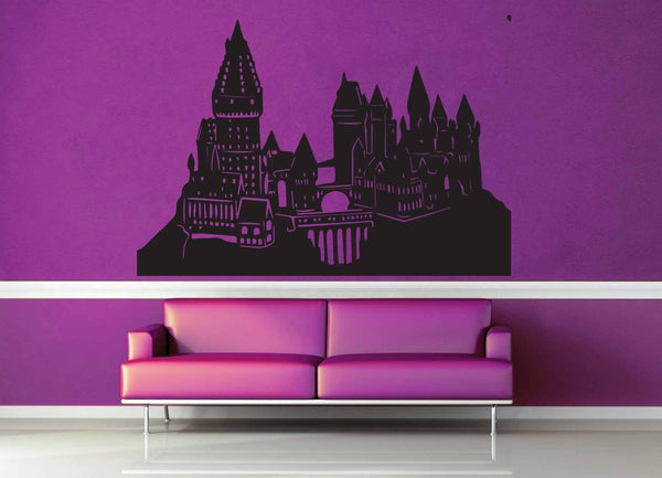 Hogwarts Castle - Harry Potter - Wall Decal - No 3 - geekerymade