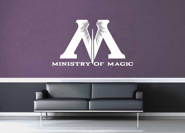Ministry of Magic - Harry Potter - Wall Decal - geekerymade