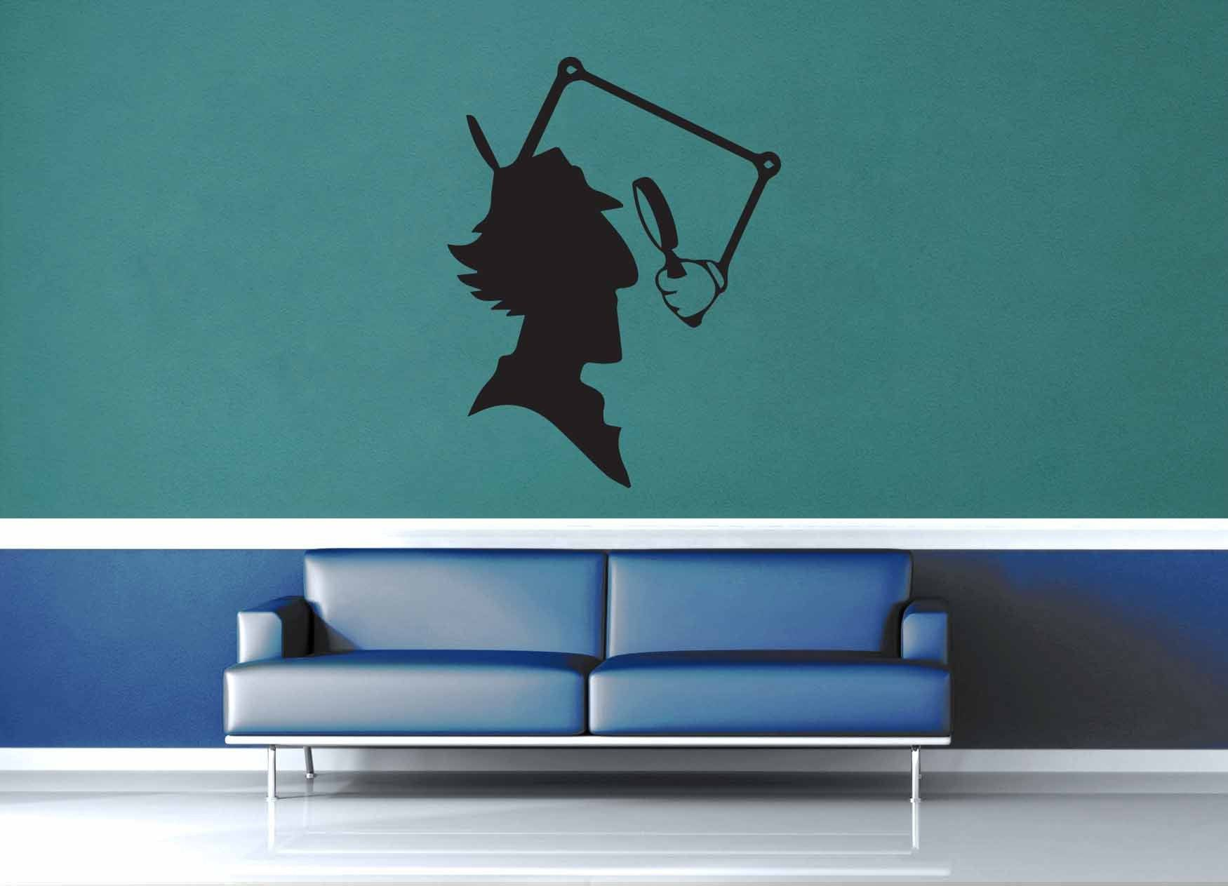 Inspector Gadget Silouette - Wall Decal