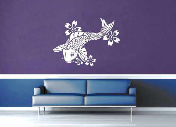 Koi Fish - Wall Decal - geekerymade