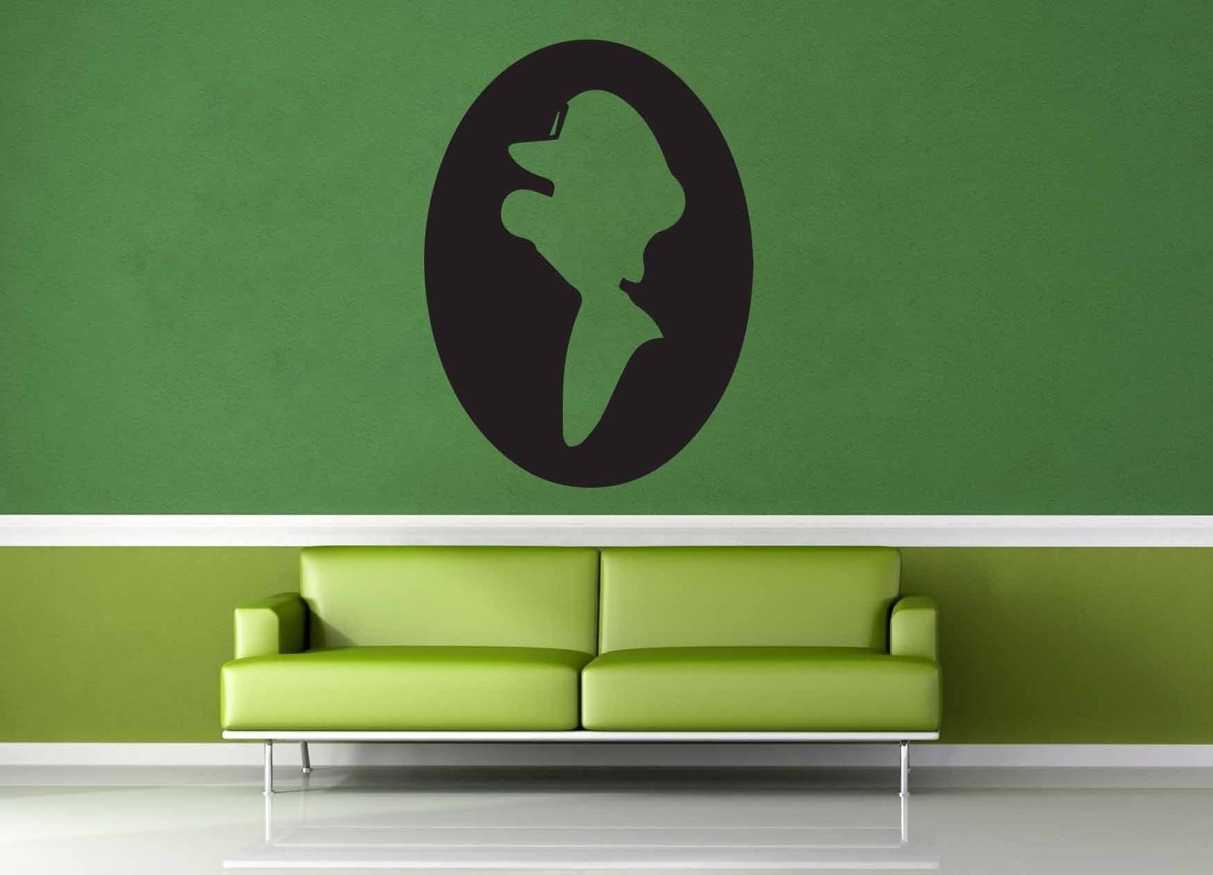 Luigi Cameo - Gamer Decor - Wall Decal