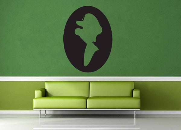 Luigi Cameo - Gamer Decor - Wall Decal - geekerymade
