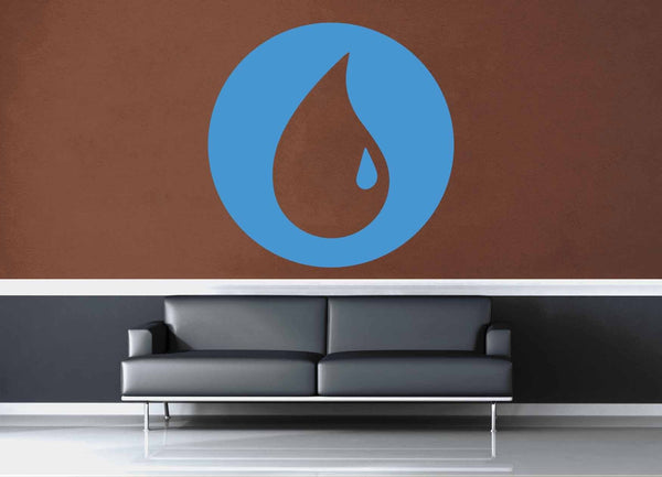 Island - Blue - MTG Mana Circle - Gamer Décor - Wall Decal