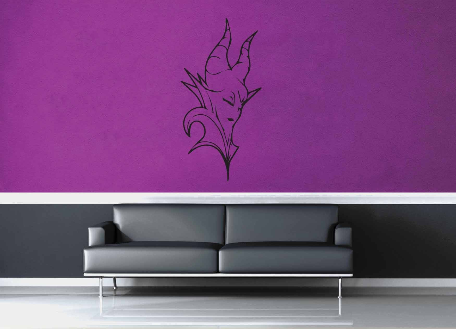 Maleficent - Wall Decal