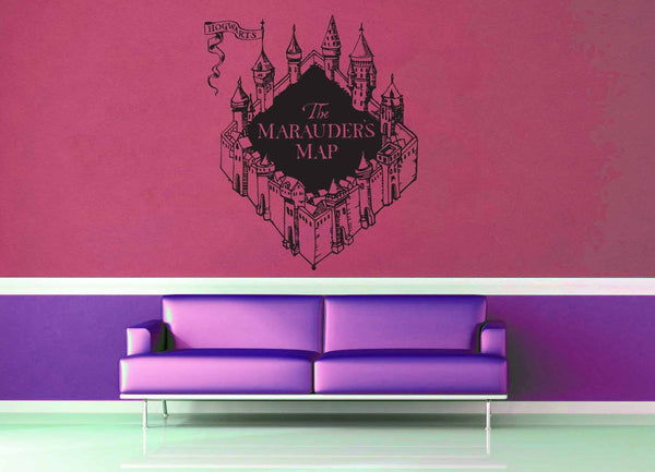 Hogwarts Castle - Harry Potter - Wall Decal - No 4 - geekerymade