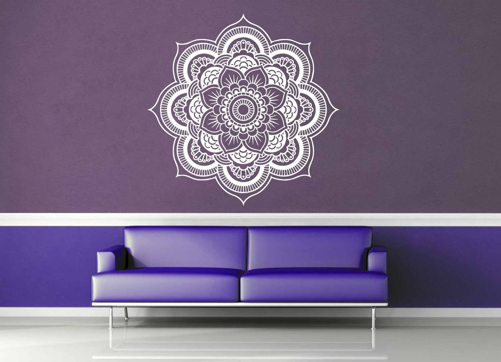 Mehndi Mandala - Wall Decal