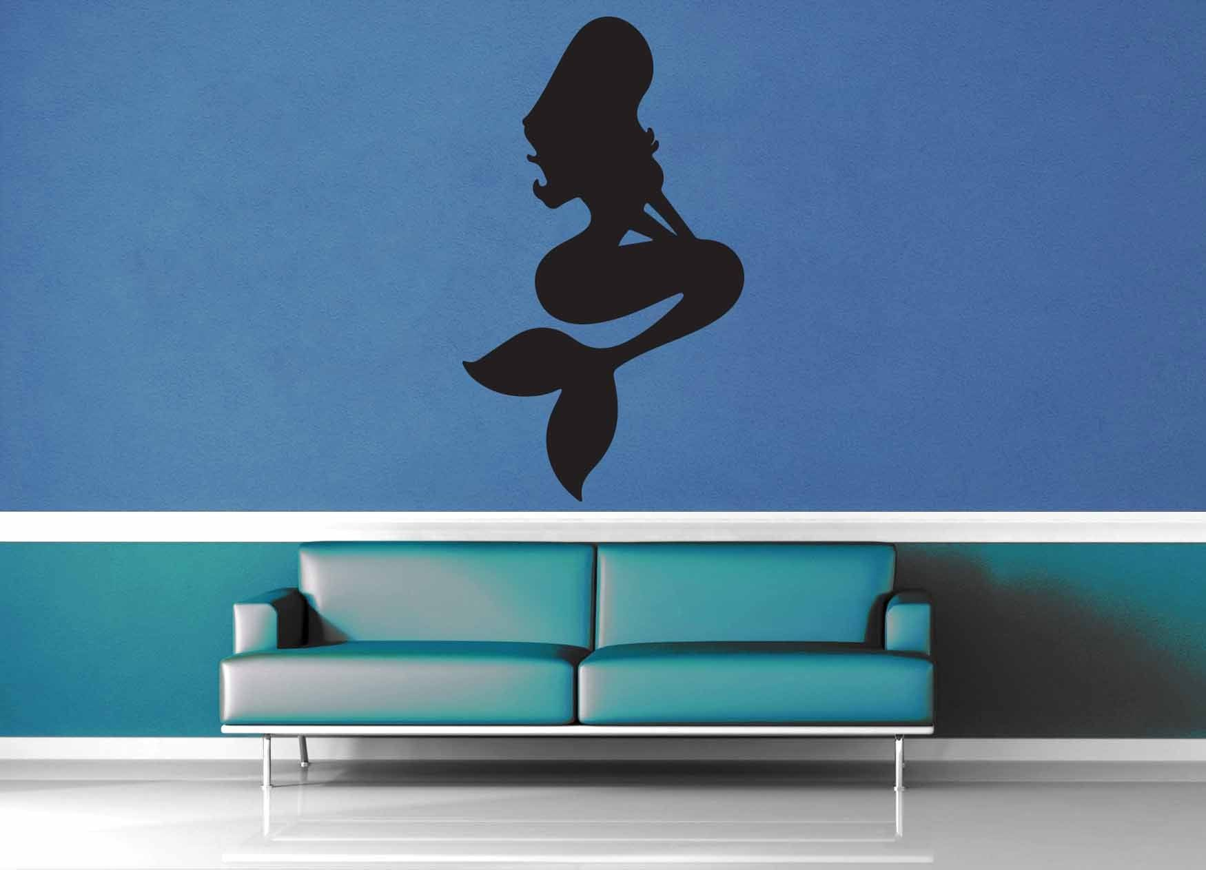 Mermaid - Wall Decal - No 1