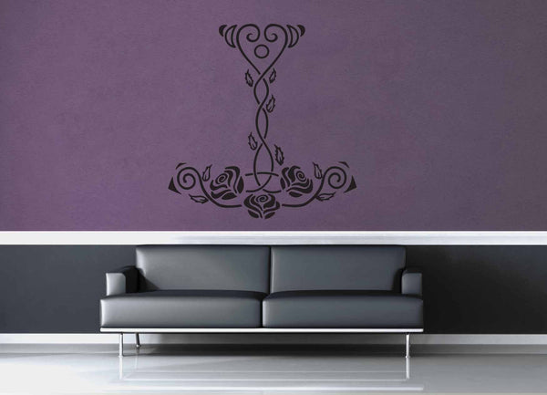 Mjolnir's Roses - Wall Decal - geekerymade