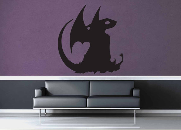 Dragon - Wall Decal - No 8 - geekerymade