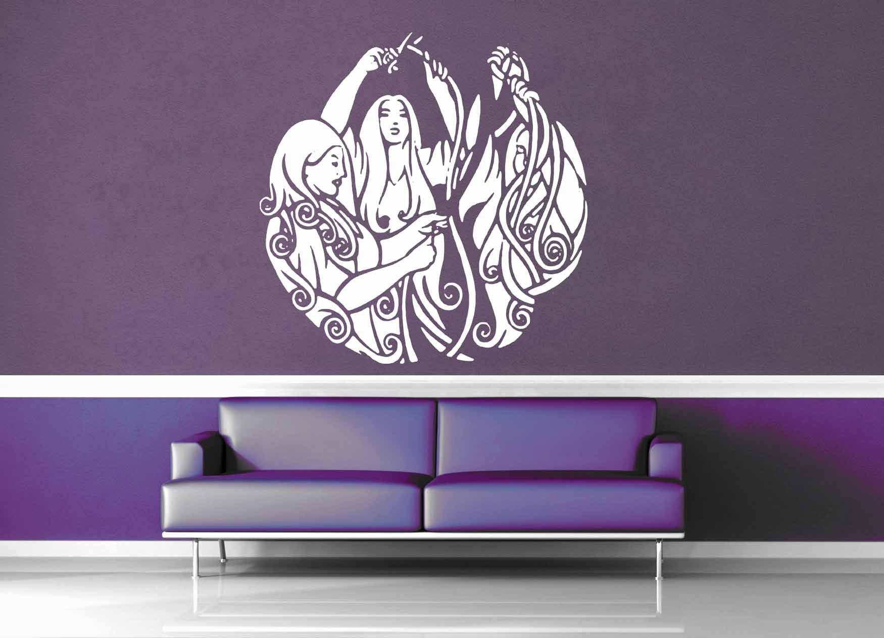 The Norns - Norse Mythology - Wall Decal