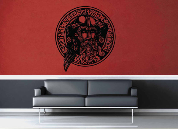 Odin - Wall Decal - No 1