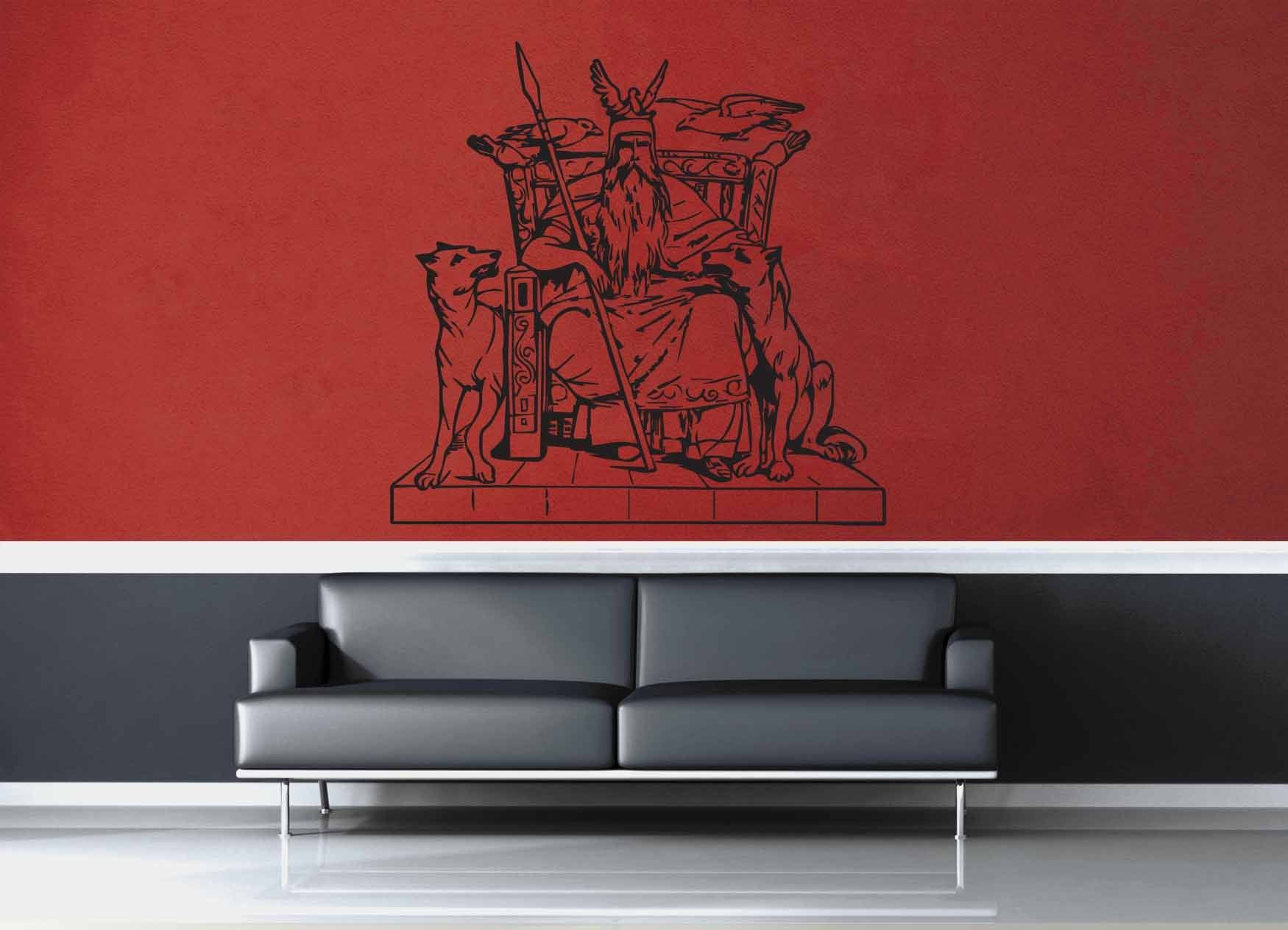 Odin - Wall Decal - No 2 - geekerymade