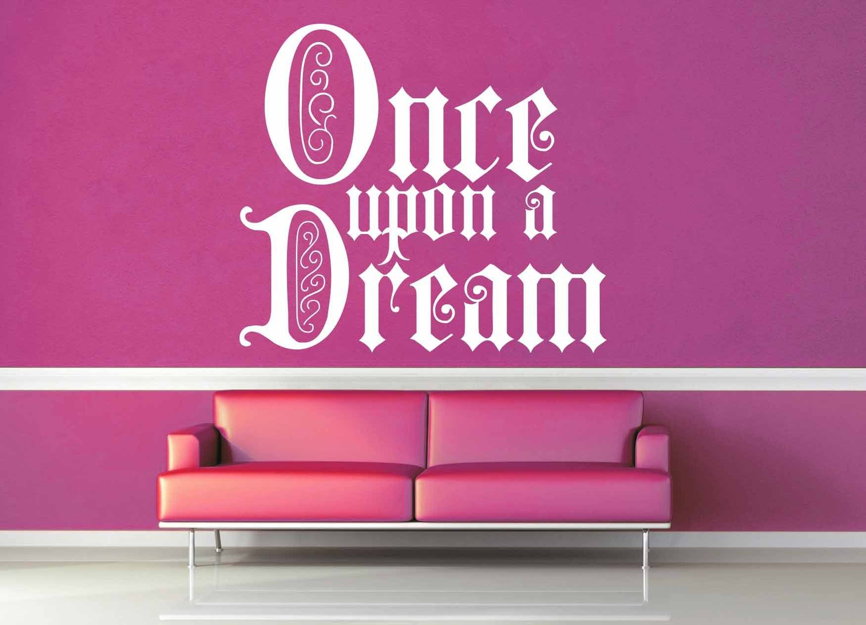 Once Upon a Dream - Wall Decal