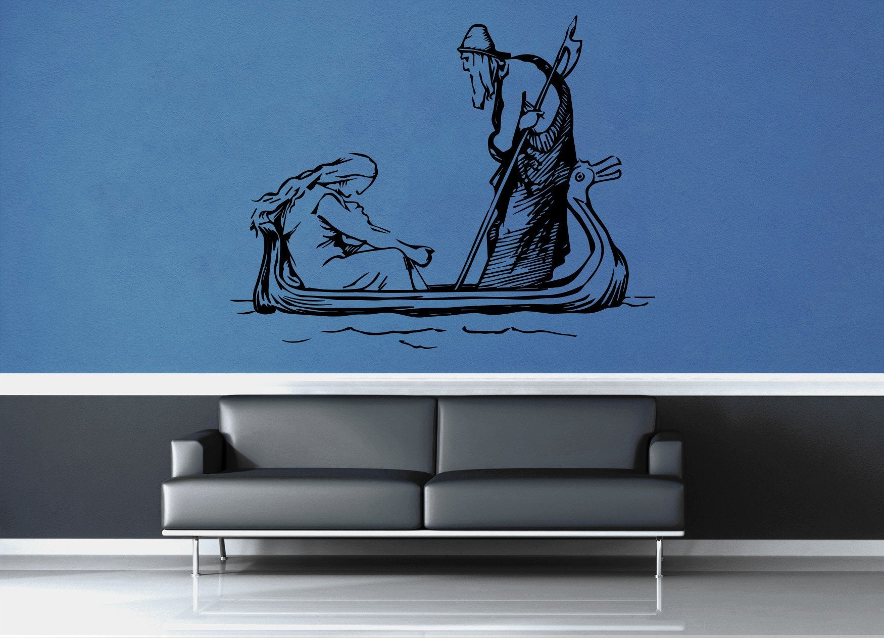 Odin and Frigg - No 1 - Wall Decal