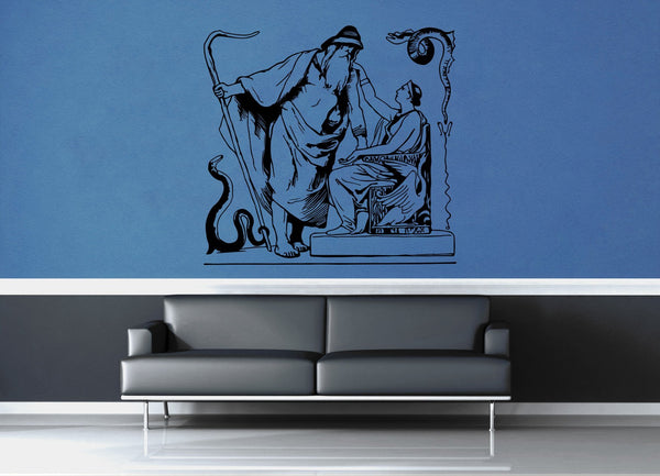 Odin and Frigg - No 3 - Wall Decal - geekerymade
