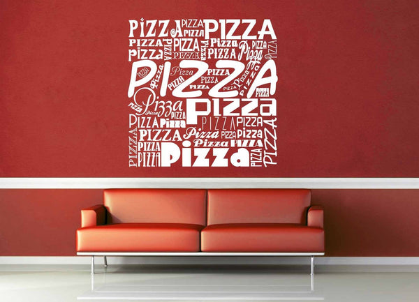 Pizza - Wall Decal - geekerymade