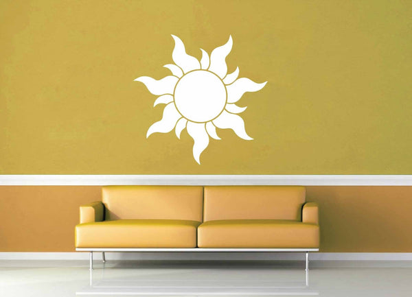 Rapunzel Sun - Wall Decal - geekerymade
